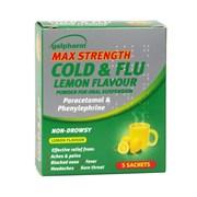 Galpharm Max Cold & Flu Lemon Powder 5s (GMHL)
