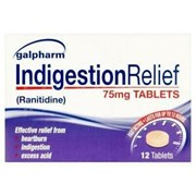 Galpharm Ranitidine Indigestion Relief Tablet 75mg 12s (GRT)