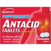 Galpharm Peppermint Antacid Tabs 24s (GAT)