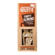 Grt British Biscotti Simply Almond Biscotti 100g (GBB03)