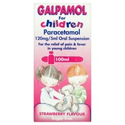 Galpharm Childrens Paracetamol Suspension 100ml (GCP)