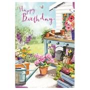 A Day In The Garden Card (GH0947W)