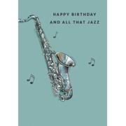All That Jazz Card (GH0953W)