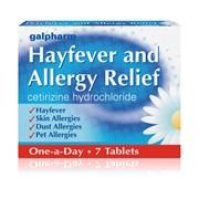 Galpharm Hayfever & Allergy Citrozene (blue) 7s (GHT)