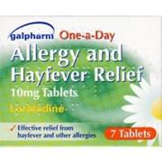 Galpharm Hayfever & Allergy Loratadine (green) 7s (GHTL)