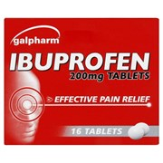 Galpharm Ibuprofen Tablets 16s (GIT)