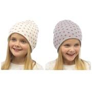 rjm Kids Heart Beanie Hat With Lurex (GL026)