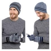 rjm Mens Hat & Touchscreen Glove Set (GL620)