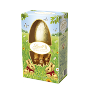 Lindt Boxed Egg With Golden Bunnies 125g (Y264)