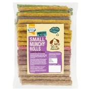 "Goodboy 5"" x 9mm Assorted Munchy Rolls 100s 900g (05194)"