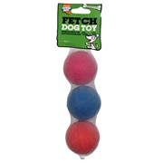 Goodboy 65mm Dog Sponge Balls 3s (08053)