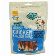 Goodboy Deli Treat Crunchy Chicken & Calcium Bones 350g (05628)