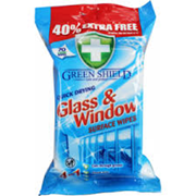 Greenshield Glass & Window Wipes 40% Extra 70s