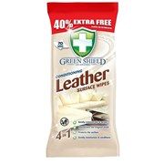 Greenshield Leather Wipes 40% Extra 70s