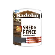 Sadolin Shed & Fence Grey Shadow 5lt (5093247)