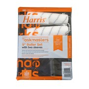 """Harris 9"""" Paint Roller Set with Free Sleeve (4210)"""