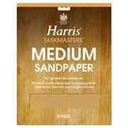 Harris Medium Glasspaper 4s (328)