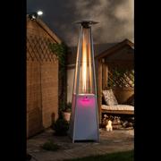 Flame Heater S/s Led Lights+regulator (LFS826)