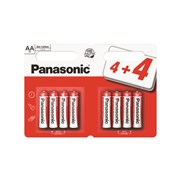 Panasonic Aa Batteries 4+4 (PANAR6RB8)