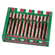 Box Of 12 Red & Whte Candy Canes 170g (HM562)
