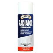 Hammerite Radiator Spray Paint White 400ml (5092847)