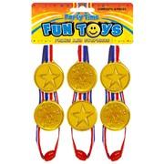 Henbrandt Gold Winners Medals 6s (T08022)