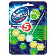 Domestos Power 5 Toilet Block Lime 55g (HODOM048B)