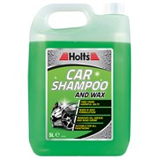 Holts Car Shampoo & Wax Cleaning Solution 5lt (HAPP0101A)
