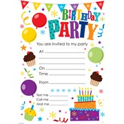 Simon Elvin Party Invitation Pads (HP-107)