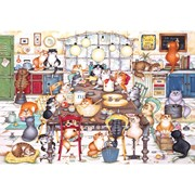 Gibsons 500pc Cats Cookie Club Puzzle 500pc (G3105)