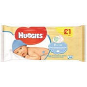 Huggies Pure Wipes 1.00pm * 56s