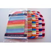 Hot Water Bottle Cover Striped Fleece (CS18710)