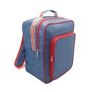 Backpack Cool Bag Denim/stripe 17lt (HWP172052)