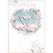 Simon Elvin Isabels Garden Wedding Day Card (27154)