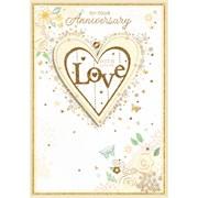 Simon Elvin Isabels Garden Your Anniversary Card (27155)
