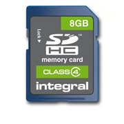 Integral 8gb Class 4 Sdhc Memory Card (INSDH8G4V2)