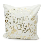 Cushion Jingle Bells Cream/gold Col 12