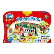 John Adams Playstuff Dough Picnic Patch 5 Pots (10627)