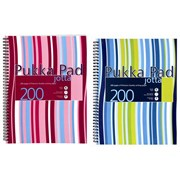 Pukka Pads A4 Stripes Jotter Asst (JP018)