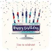 Birthday Cake Card (JUE30002)