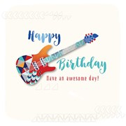 Birthday Guitar Card (JUE30006)