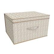 Jumbo Storage Chest Knit Natural (STO167379)