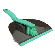 Jvl Dust Pan & Brush Set Grey (20-038GY)