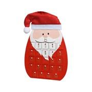 Kaemingk Mdf Santa Advent Calendar (550669)