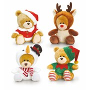 Keel Christmas Pipp The Bear 14cm (SX1110)