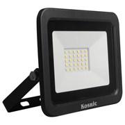 Kosnic Eco Led Flood Light 50w 6500k Black (KFLDHS50Q465-W65-BLK)