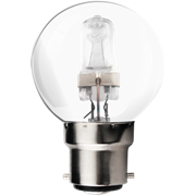 Kosnic 28w E27 Golfball Halogen Light Bulb (KHS28GLF-E27)