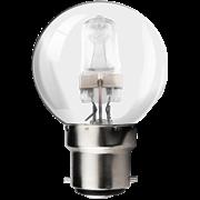 Kosnic 28w B22 Golfball Halogen Light Bulb (KHS28GLF-B22)