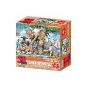 Kidicraft Super 3d African Smile Puzzle 63pce (HR13583)