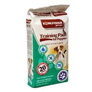 Kingfisher Puppy Training Pads 20s (PPADS)